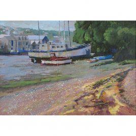 C1867 Penryn at Low Tide – Neville Cox