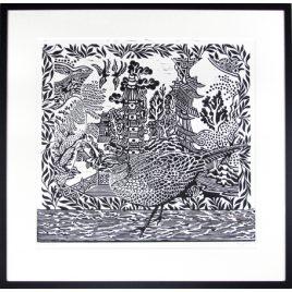 C2568 Visiting Pheasant