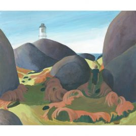 C2901 Behind the Lighthouse -Sue Onley