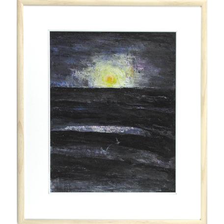 Moon2  38×48 59x70cm