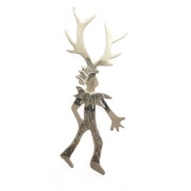 BCBR-17 Wild Thing Stag Brooch – Becky Crow