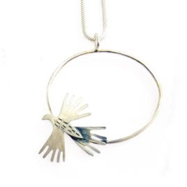 BCN-66 Small Oval Sunbird Necklace