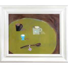 C2834 Still Life with Blue Eggcup