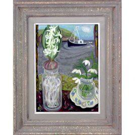 C1309 Hyacinth & Snowdrops