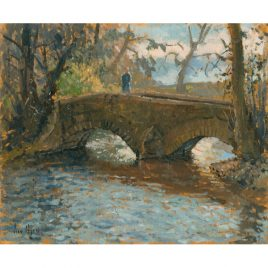 C1700 Pack Horse Bridge Dunster – Ian Cryer