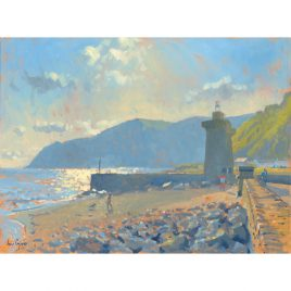 C1712 Morning Light Lynmouth