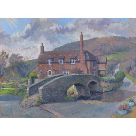 43 Allerford Bridge and cottage 61×45.5 80×64.5 – Copy (2)