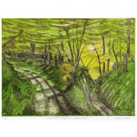 C1783 Two Roads Divided in a Yellow Wood 12of50 41×32 – Copy