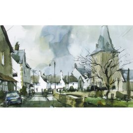 C759 Porlock Church from Parsons Street – John Hoar