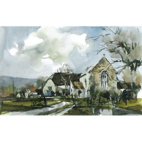 C760 Lynch Chapel Watercolour £495 33×52 71×54 – Copy (2)