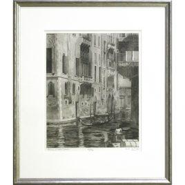 C379  Venice, Back Canal 42/75 – Ann le Bas