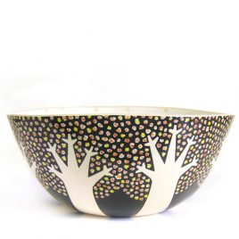 MHX3100 Black Blossom Bowl