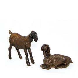 C1271 Pair of Kids – Bronze Sculptures 29/50