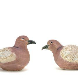 C3514 Pair of Collar Doves
