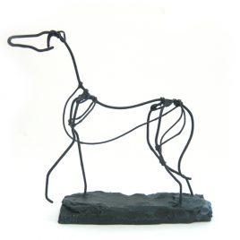 C3473 Wire Sketch Hound