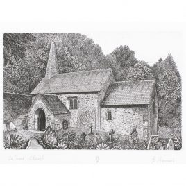C5985 Culbone Church II – Brian Hanscomb