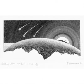 C3835 Shooting Stars over Bodmin Moor 20/95 – Brian Hanscomb