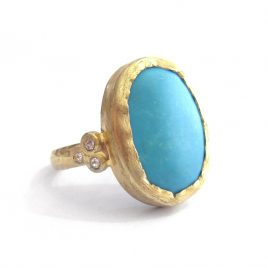 YMR-20 Turquoise Ring (P)