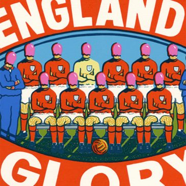 'England's Glory' Limited Edition Silkscreen by Matthew Ensor