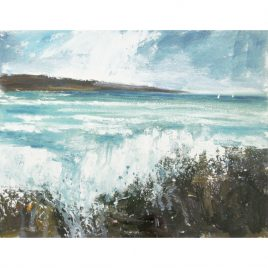 C4134 Blustery Day, North Cornwall