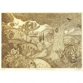 C4166 Man on a Laptop (after Samuel Palmer) 16/25 – Kit Boyd