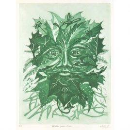 C4157 Winter Green Man A/P