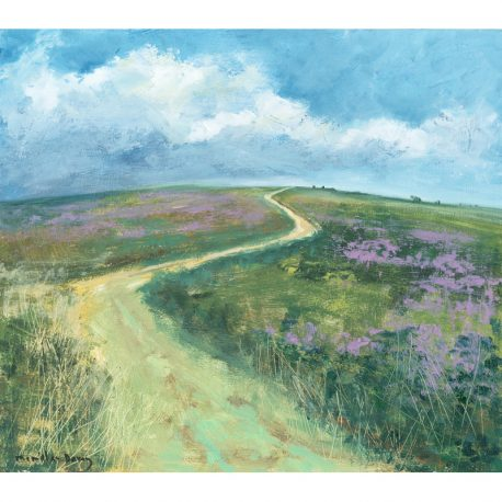 C4497 Summer on Selworthy beacon image 32x28cm – Copy