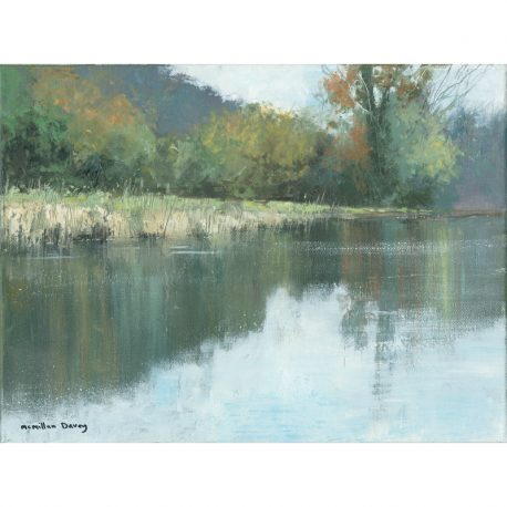 C4506 Still morning, river Barle image 40x30cm – Copy