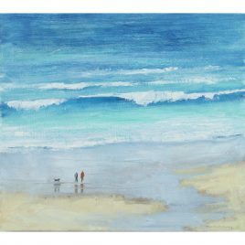 C4511 Turquoise Sea, St Ives