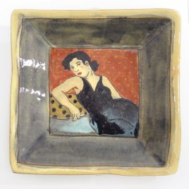X1076 Square Plate