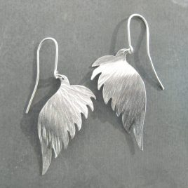ELE-142 Angel Wing Drop Earrings