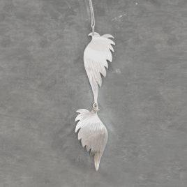 ELN-74 Double Angel Wing Pendant – Emma Lumley