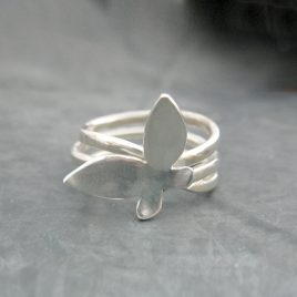 ELR-49 Butterfly Ring