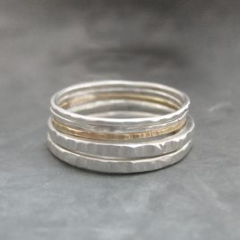 ELR-62 Stacking Bark Rings