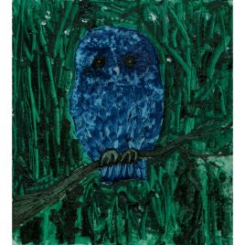 Blue Owl in Green Wood – David Harrison