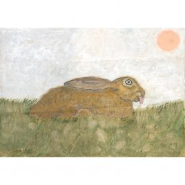 Hare with Tongue Sticking Out – Ed Hill