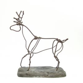 C4942 Red Stag Wire Sketch