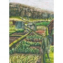 C4969 Passerby (Dunster Allotments) 2 – Rebecca Bromley