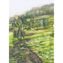 C4972 Passerby (Dunster Allotments) 5 – Rebecca Bromley