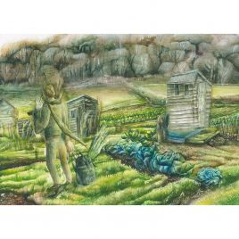 C4973 Passerby (Dunster Allotments) 6 – Rebecca Bromley