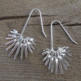 ACE-73 Palm Leaf Earrings – Amanda Coleman