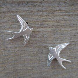 ACE-78 Swallow Stud Earrings