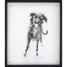 C4705 Leaning Lurcher 4/10