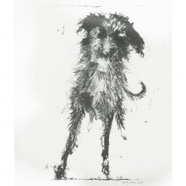 C4706 Leaning Lurcher 1/10