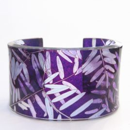 SGB-62 Pinks and Purple Vetch Cuff – Sue Gregor
