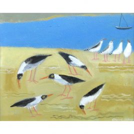 C5012 Oyster Catchers – Louise Waugh
