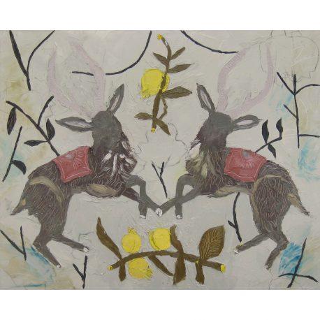 Two Deer (2)