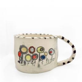 C5226 Flower Mug – Amanda Banham