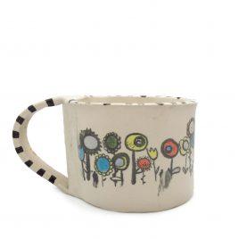 C5227 Flower Mug – Amanda Banham