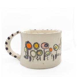 C5228 Flower Mug – Amanda Banham